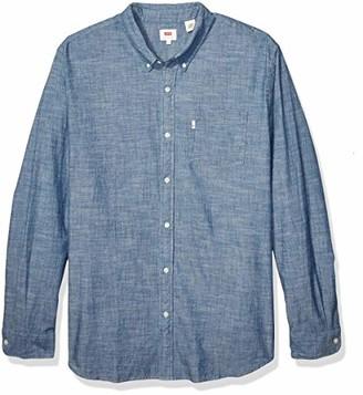 Levi's Men's Size Big & Tall-Classic One Pocket Shirt-Tall