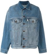 Off-White stonewashed denim jacket