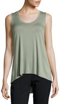 Karen Kane Royal Draped Top