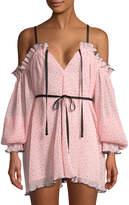 Alice McCall Women's Ruffle Print Dress