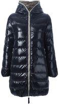 Duvetica padded zip hood jacket