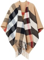 Burberry CLASSIC CHECK WOOL & CASHMERE CAPE