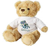 Cotton Zoo Denim the Lion Teddy