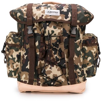 Eastpak x A.P.C camouflage backpack