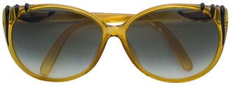 A.N.G.E.L.O. Vintage Cult striped temple sunglasses