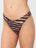 Very Mix & Match High Leg Brief - Zebra Print