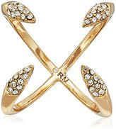 Rebecca Minkoff Pave Claw Gold Ring, Size 7