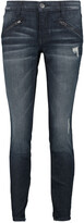Thumbnail for your product : Current/Elliott Low-rise Skinny Jeans