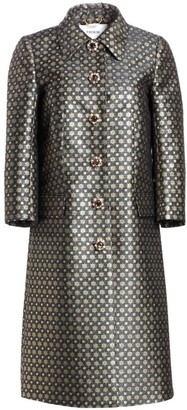 Erdem Chester Metallic Brocade Jacket