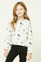 Forever 21 FOREVER 21+ Girls Graphic Sweatshirt (Kids)