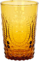 One Kings Lane S/4 Renaissance Juice Glasses, Amber