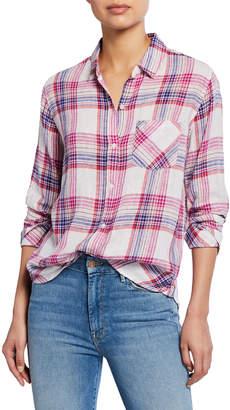 Rails Charli Plaid Button-Down Shirt