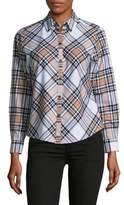 Lord & Taylor Cameron Plaid Button-Down Shirt