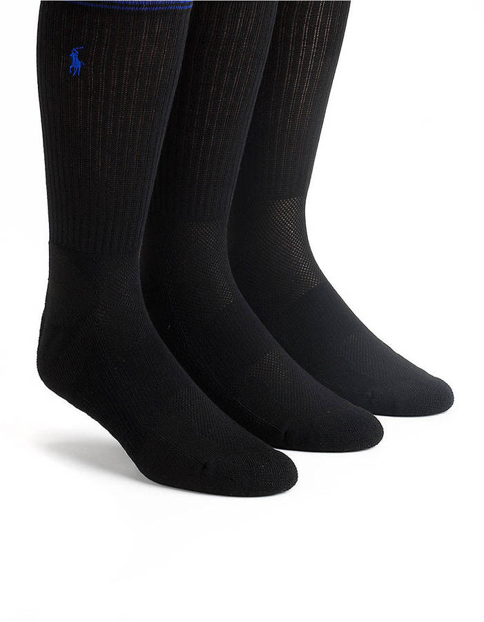 Polo Ralph Lauren 3-Pack Technical Crew Socks