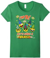 Kids Emoji Birthday Shirt For 9 Year Old Boy Girl Have A Blast 10