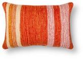 Threshold Striped Lumbar Pillow - Orange Multi