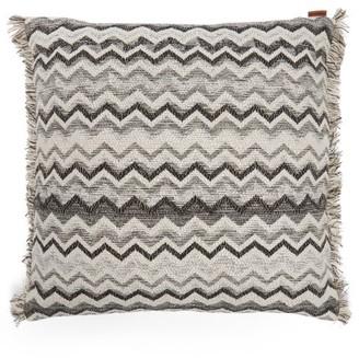 Missoni Home Wipptal Zigzag Jacquard Cushion - Black White