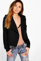Boohoo Lillie Bonded Short Trench