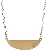Melissa Joy Manning Mini Collar Necklace with Diamond Detail