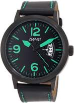 August Steiner Men's ASA812GN Swiss Quartz Bold Military Luminescent Watch