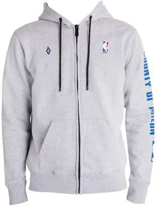 Marcelo Burlon County of Milan NBA Zip-Front Hoodie