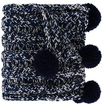 0711 Bradford pompom detailed scarf