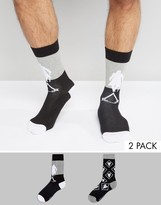 Asos Socks with Assassin's Creed Design 2 Pack