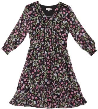 Nanette Nanette Lepore Floral Ruffled Dress