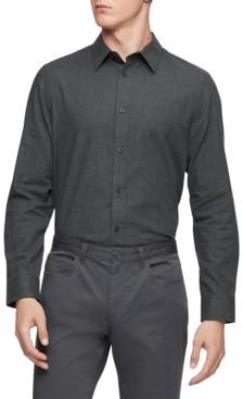 Calvin Klein Men's Flannel Classic-Fit Shirt