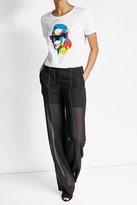 Karl Lagerfeld X Steven Wilson Printed Cotton T-Shirt