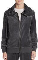 Calvin Klein Drawstring Zip-Front Jacket