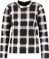 Marc by Marc Jacobs Printed stretch cotton-blend sweatshirt