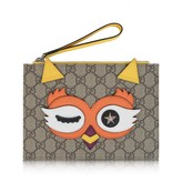 Gucci GUCCIGirls Gold Owl Clutch Bag
