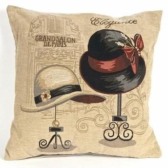 Red Barrel Studio Bonilla Tapestry Grand Salon De Paris Pillow Cover Red Barrel Studio