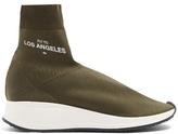 Joshua Sanders LA high-top sock trainers