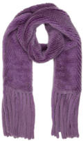 Michael Kors Knitted Fur Scarf