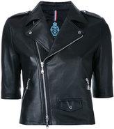 GUILD PRIME zip up jacket - women - Lamb Skin - 34