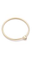 Jennifer Meyer Jewelry 18k Gold Thin Diamond Ring