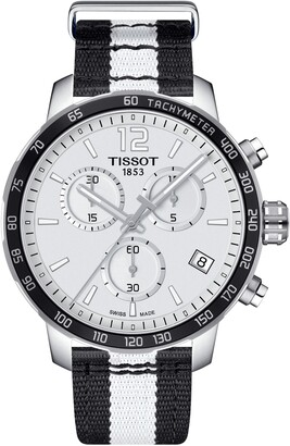 Tissot Men's Quickster Chronograph NBA Brooklyn Nets Watch, 42mm