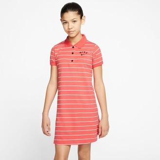 Nike Girls' Sportswear Polo Dress