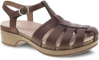 Dansko Adjustable Leather Sandals - Brie