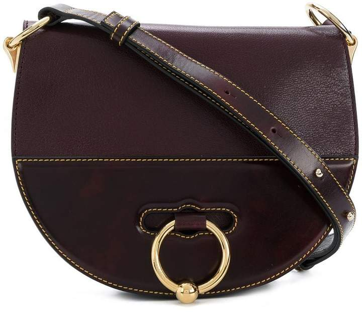 J.W.Anderson Burgundy Latch Bag