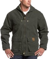 Carhartt Men's Big & Tall Jackson Coat Sherpa Lined Sandstone C95