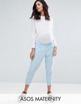 Asos Clean Textured Linen Trouser