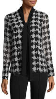 Karl Lagerfeld Women's Self-Tie Print Blouse