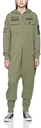 One Piece OnePiece Jumpsuit Army Military Green, W40