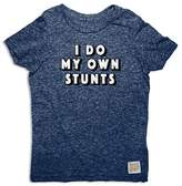 Original Retro Brand Boys' I Do My Own Stunts Tee - Little Kid