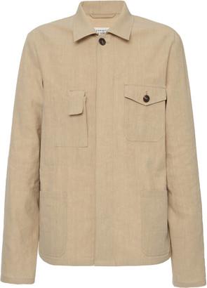 Maison Margiela Linen Shirt Jacket