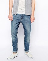 Weekday Jeans Friday Skinny Fit Blue Warning