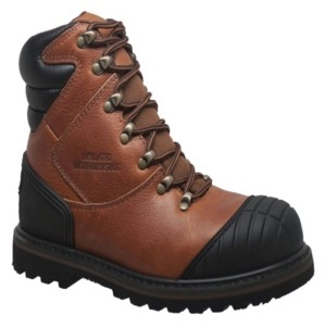 "AdTec Men's 7"" Steel Toe Work Boot Reddish Men's Shoes"
